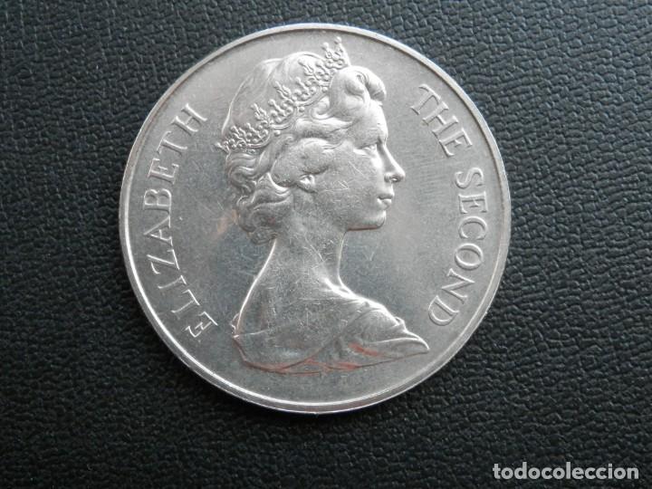 Monedas antiguas de África: ISLA DE SANTA ELENA 25 PENCE AÑO 1973 CONMEMORATIVA, CONSERVACIÓN = SC. LA MONEDA NO HA CIRCULADO - Foto 2 - 256015840