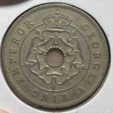Monedas antiguas de África: SOUTH RHODESIA PENNY 1936 MONEDA COLONIAL BRITÁNICA. Lote 260299315