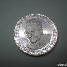 Monedas antiguas de África: NIGER , REPUBLICA AFRICANA. 1000 FRANCOS DE PLATA DE 1960. INDEPENDENCIA. Lote 260722425