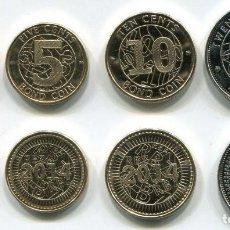 Monedas antiguas de África: ZIMBABWE 1, 5, 10 Y 25 CENTS 2014 - SIN CIRCULAR. Lote 261843745