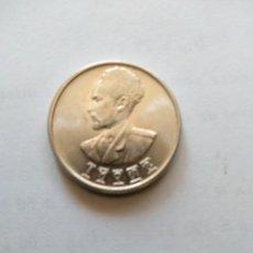 Monedas antiguas de África: ETIOPIA-MONEDA DE 50 CTS 1943/1944- HAILE SELASSIE I.ES DE PLATA Y PESA 7 GRS.. Lote 262001235