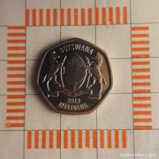 Monedas antiguas de África: 25 THEBE, BOTSWANA. 2013. (KM#33).. Lote 262086455