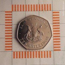 Monedas antiguas de África: 10 SHILLINGS, UGANDA. 1987. (KM#30).. Lote 262087005