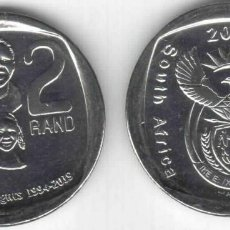 Monedas antiguas de África: SUDÁFRICA 2 RAND 2019 DERECHOS DE LOS NIÑOS - SIN CIRCULAR. Lote 262137855