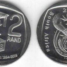 Monedas antiguas de África: SUDÁFRICA 2 RAND 2019 DERECHO A LA EDUCACIÓN - SIN CIRCULAR. Lote 262137900