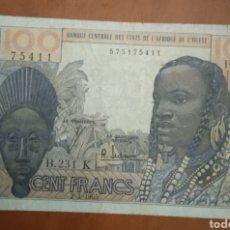 Monedas antiguas de África: BILLETE ÁFRICA 100. Lote 262151810