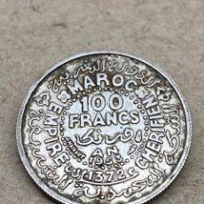 Monedas antiguas de África: MONEDA DE PLATA 100 FRANCS 1953. Lote 262894550