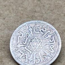 Monedas antiguas de África: MONEDA DE PLATA 1315 MARROC. Lote 262895505