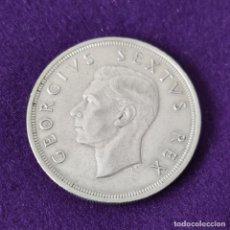 Monedas antiguas de África: MONEDA DE SUDAFRICA. JORGE VI. 1949. 5 SHILLINGS. PLATA. EXCELENTE CONSERVACION.. Lote 263294665