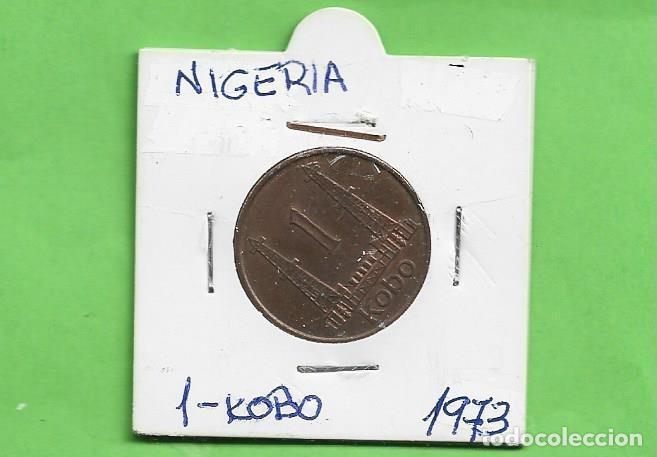 NIGERIA 1 KOBO 1973. BRONCE KM#8.1 (Numismática - Extranjeras - África)