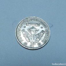 Monete antiche di Africa: MONEDA DE PLATA DE 3 PENIQUES DE SUDAFRICA DEL EMPERADOR JORGE VI AÑO 1937. Lote 267462909