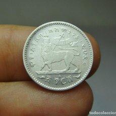 Monedas antiguas de África: 1/20 BIRR. PLATA. ETIOPÍA - 1889. Lote 268450309