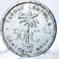 Monete antiche di Africa: ⚜️ 50 CENTIMES 1954. CONGO BELGA. AD040. Lote 268465339