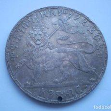 Monedas antiguas de África: 10SCD14 ETIOPÍA MENELIK II 1 BIRR DE PLATA DE 1892 (1900). Lote 268760804
