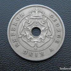 Monedas antiguas de África: RHODESIA MONEDA 1 PENIQUE AÑO 1936. CONSERVACIÓN MBC. Lote 268971824
