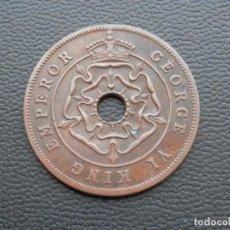 Monedas antiguas de África: RHODESIA MONEDA 1 PENIQUE AÑO 1947. CONSERVACIÓN BC. Lote 268972184