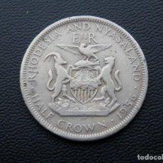 Monedas antiguas de África: RHODESIA MONEDA HALF CROWN AÑO 1956. CONSERVACIÓN BC -. Lote 268975309