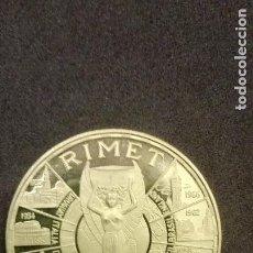 Monedas antiguas de África: GUINEA ECUATORIAL-EQUATORIAL 1000 PESETAS 1970 ORO GOLD 14,10GR LEY 900 PROOF COPA RIMET MEXICO. Lote 269001409