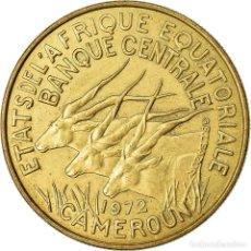 Monedas antiguas de África: [#776934] MONEDA, ESTADOS AFRICANOS ECUATORIALES, 25 FRANCS, 1972, PARIS, MBC, ALUMINIO -. Lote 269180268