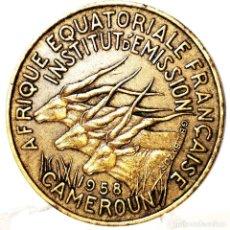 Moedas antigas de África: ⚜️ B2240. FECHA ÚNICA. 10 FRANCS 1958. CAMERÚN. Lote 269235408