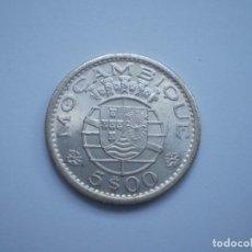 Monedas antiguas de África: 48SCD14 MOZAMBIQUE 1960 5 ESCUDOS DE PLATA. Lote 269733763