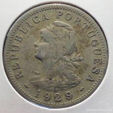 Monedas antiguas de África: SAN TOME Y PRINCIPE KM1 50 CENTAVOS 1929. Lote 269752638