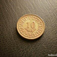 Monnaies anciennes d'Afrique: TUNEZ 10 MILLIM 1960. Lote 270973453