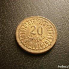 Monnaies anciennes d'Afrique: TUNEZ 20 MILLIM 1960. Lote 270973643