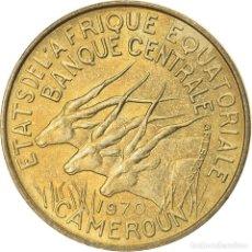 Monedas antiguas de África: [#824380] MONEDA, ESTADOS AFRICANOS ECUATORIALES, 5 FRANCS, 1970, PARIS, EBC, ALUMINIO -. Lote 271537813
