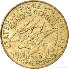 Monedas antiguas de África: [#824379] MONEDA, ESTADOS AFRICANOS ECUATORIALES, 10 FRANCS, 1969, PARIS, EBC, ALUMINIO -. Lote 271539323