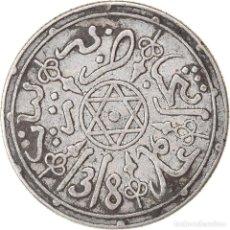 Monedas antiguas de África: [#896956] MONEDA, MARRUECOS, 'ABD AL-AZIZ, DIRHAM, 1900/1318 AH, PARIS, MBC, PLATA. Lote 271548128
