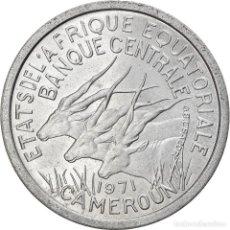 Monedas antiguas de África: [#824381] MONEDA, ESTADOS AFRICANOS ECUATORIALES, FRANC, 1971, PARIS, EBC, ALUMINIO, KM:6. Lote 271552418