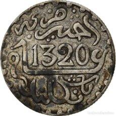 Monedas antiguas de África: [#866792] MONEDA, MARRUECOS, 'ABD AL-AZIZ, 1/20 RIAL, 1/2 DIRHAM, AH 1320/1902, LONDON. Lote 271566938