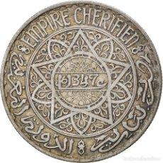 Monedas antiguas de África: [#866782] MONEDA, MARRUECOS, MOHAMMED V, 20 FRANCS, AH 1347/1928, PARIS, MBC, PLATA, KM:39. Lote 271569598