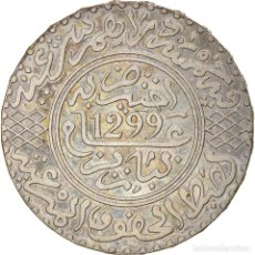Monedas antiguas de África: [#866785] MONEDA, MARRUECOS, MOULAY AL-HASAN I, 5 DIRHAMS, AH 1299/1881, PARIS, MBC. Lote 271570718