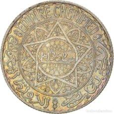 Monedas antiguas de África: [#866783] MONEDA, MARRUECOS, MOHAMMED V, 10 FRANCS, AH 1352/1933, PARIS, MBC, PLATA. Lote 271570723