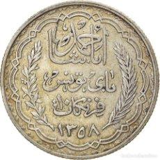 Monedas antiguas de África: [#866828] MONEDA, TÚNEZ, AHMAD PASHA BEY, 10 FRANCS, 1939, PARIS, MBC, PLATA, KM:265. Lote 271572338