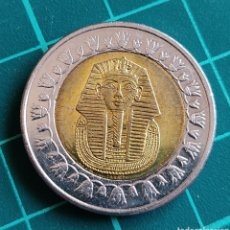 Monedas antiguas de África: EGIPTO 1 LIBRA 2010 BIMETÁLICA. Lote 272240938