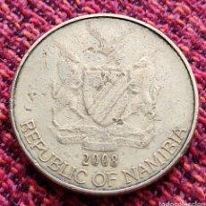 Monedas antiguas de África: NAMIBIA 1 DÓLAR 2008. Lote 274673813
