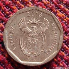 Monedas antiguas de África: SUDÁFRICA 10 CENTS 2013. Lote 274880563