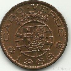 Monnaies anciennes d'Afrique: 1 ESCUDO - CABO VERDE - 1968 - FOTOS. Lote 275564988