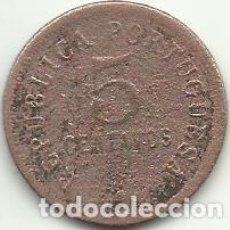 Monnaies anciennes d'Afrique: 5 CENTAVOS - ANGOLA - 1923 - FOTOS. Lote 275581173
