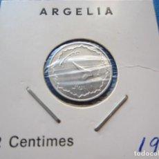 Monedas antiguas de África: MONEDA DE ARGELIA DE 2 CENTIMES DE 1964 SC RARO. Lote 276076913