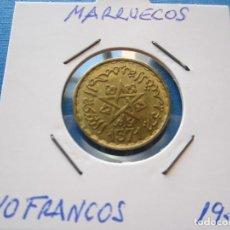 Monedas antiguas de África: MONEDA DE MARRUECOS DE 10 FRANCOS DE 1951 SC. Lote 276081553
