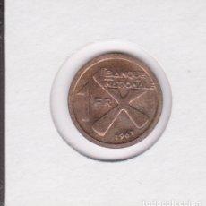 Monedas antiguas de África: MONEDAS EXTRANJERAS - KATANGA - 1 FRANC - 1961 - KM-1 (SC-). Lote 277660233