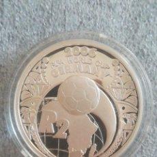 Monedas antiguas de África: MONEDA SOUTH AFRICA 2 RAND 2005 FIFA 2006 GERMANY PLATA 925 SUD AFRICA PROOF S/C. Lote 278267453