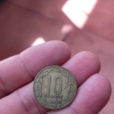 Monedas antiguas de África: MONEDA DE 10 DIEZ FRANCOS ESTADOS AFRICANOS CENTRAL CENTRALES 1975 REGULAR CONSERVACION. Lote 278409053