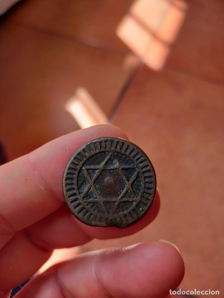 Monedas antiguas de África: MONEDA DE 4 CUATRO 1287 FALUS FELUS MOHAMMED IV 11.14 GRAMOS 28 MM DIAMETRO MARRUECOS - Foto 2 - 278445493