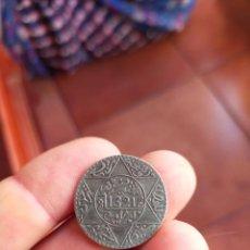 Monedas antiguas de África: MONEDA DE 1/4 CUARTO RIAL 1321 1903 MARRUECOS MUY BUENA CONSERVACION CECA BERLIN PLATA 2 1/2 DIRHAM. Lote 278453753