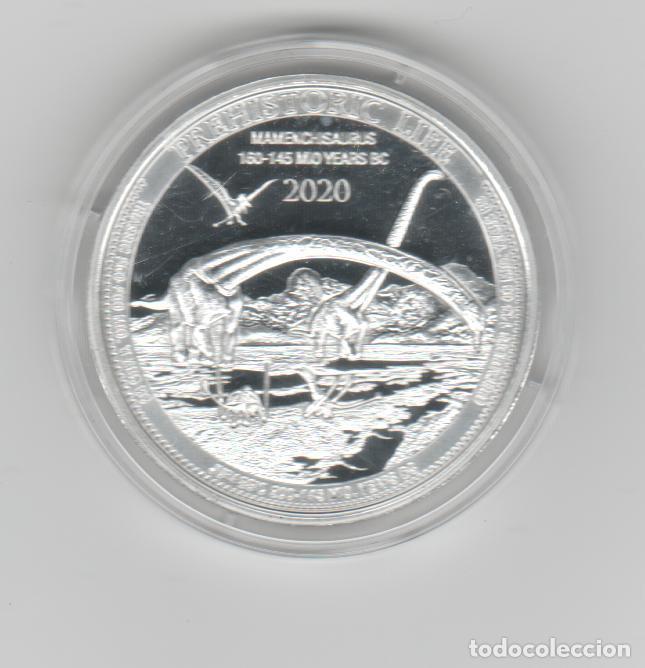 Monedas antiguas de África: REPUBLICA DEMOCRATICA DEL CONGO- 1 ONZA-20 FRANCOS-2020-PROF-ENCAPSULADA - Foto 2 - 278478188